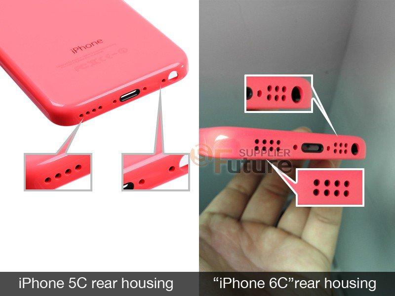 Пластиковый корпус iPhone 6C