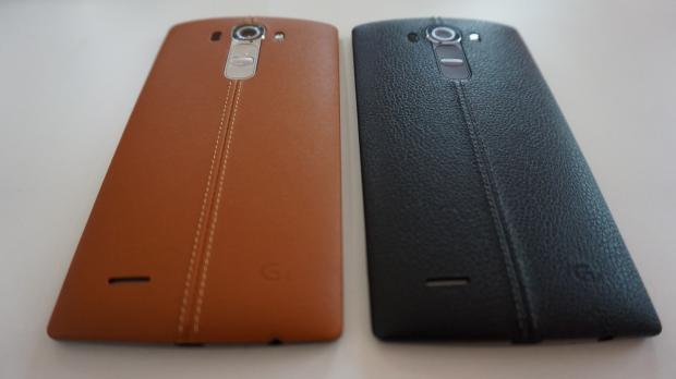 Смартфоны LG G4. Черный и Рыжий