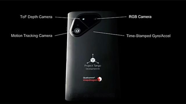 Смартфон Project Tango