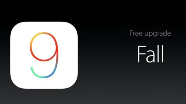 Выход iOS 9