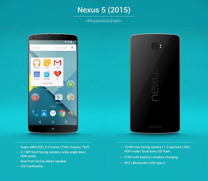 Концепция Nexus 5 2015