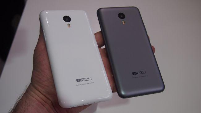 Серый и белый Meizu M2 Note