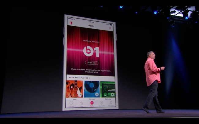 Apple Music Beats на WWDC 2015