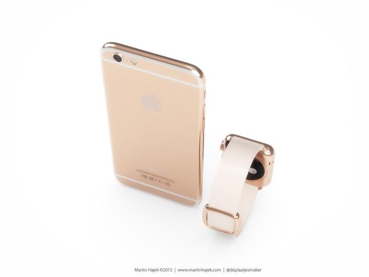Apple iPhone 6S в розовом золоте