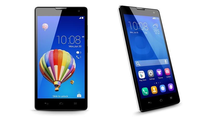 Бюджетный смартфон Huawei Honor 3C
