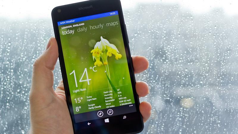 Бюджетный смартфон Microsoft Lumia 640