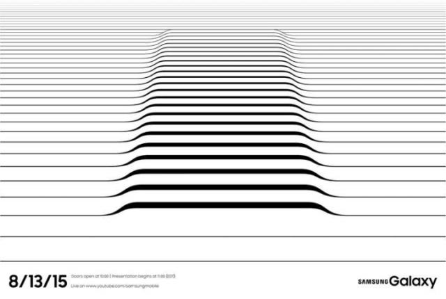 Дата выхохда Galaxy Note 5. Приглашение