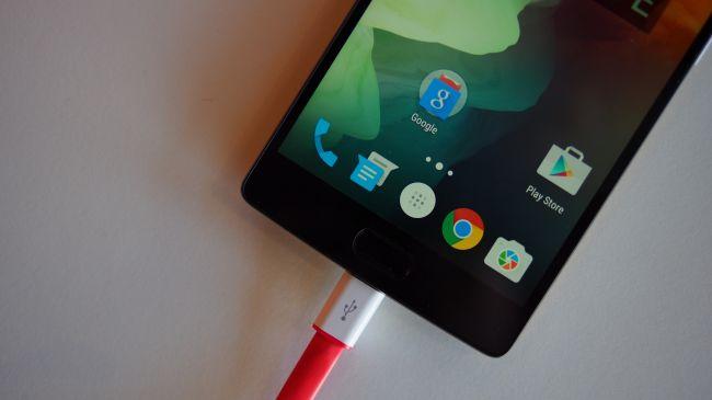 Зарядка OnePlus Two. USB Type-C