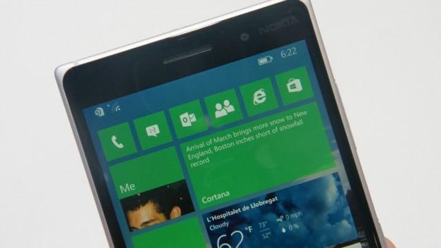 Предварительный обзор Windows 10 Mobile