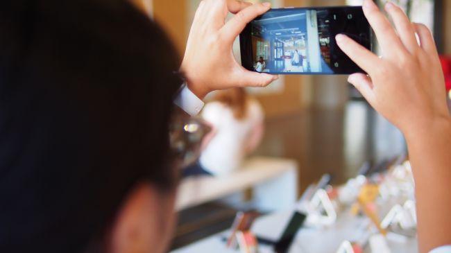 Селфи на OnePlus Two