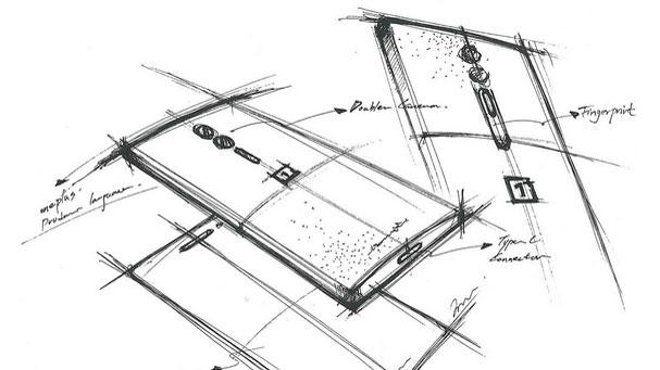 Эскиз OnePlus Two