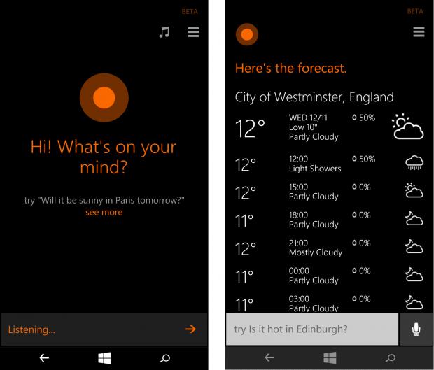 Cortana и Nokia Lumia 930