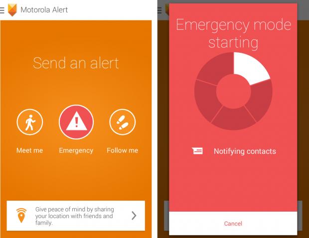 Motorola Moto E и Moto Alert