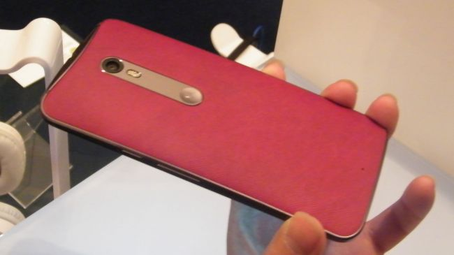 Motorola Moto X Style в коже