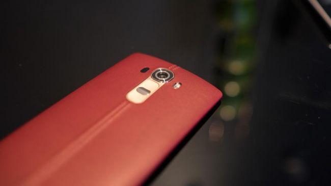 Кожаный LG G4