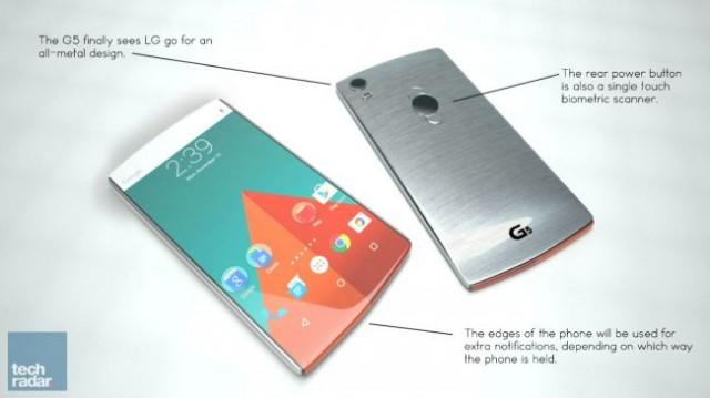 Концепция LG G5 от TechRadar