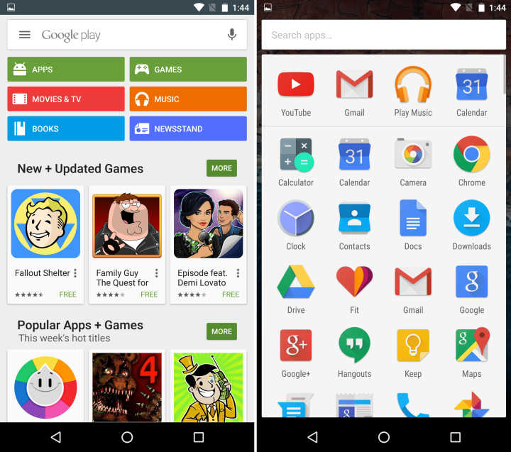 Приложения Android 6.0 Marshmallow