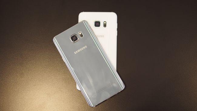 Galaxy Note 5 против Galaxy S6 Edge +