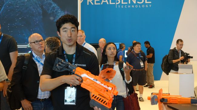 Intel RealSense и Project Tango