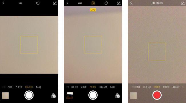 Видоискатель камеры iPhone 6S Plus