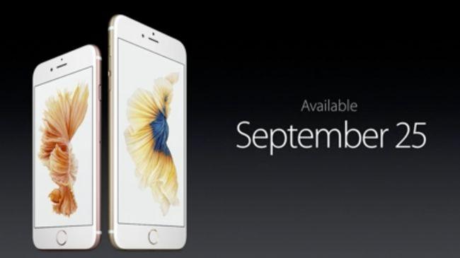 Выход Apple iPhone 6S