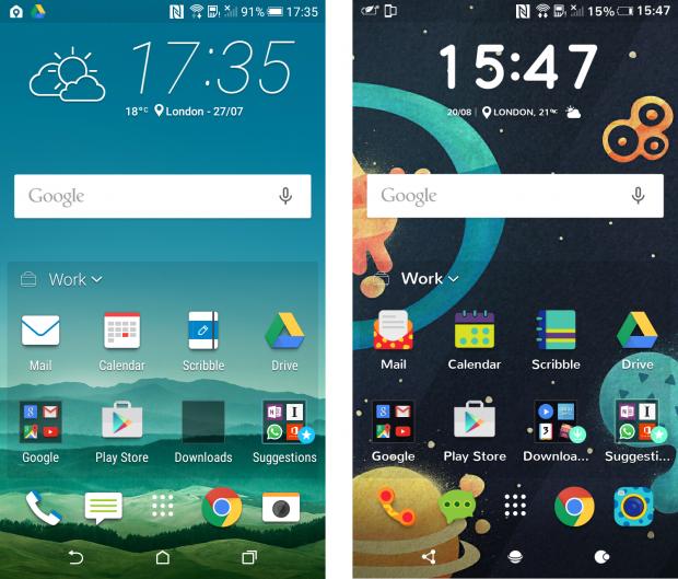 Пользовательский интерфейс HTC Sense 7