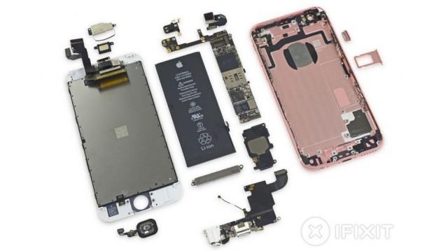 Разборка iPhone 6S. Батарея