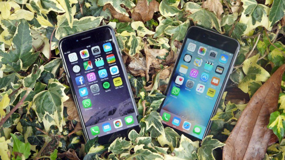 Сравнение iPhone 6S против iPhone 6