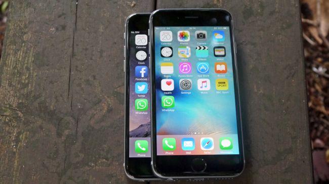 Apple iPhone 6S против Apple iPhone 6
