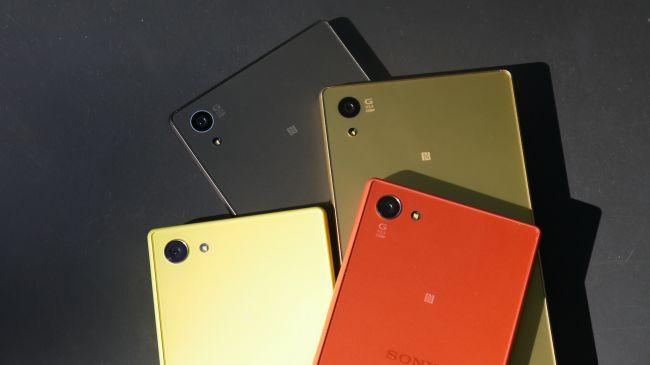 Дизайн смартфона Sony Xperia Z5