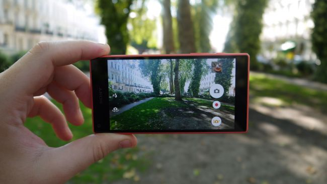 Камера Sony Xperia Z5 Compact
