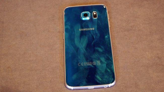 Отпечатки пальцев на Samsung Galaxy S6