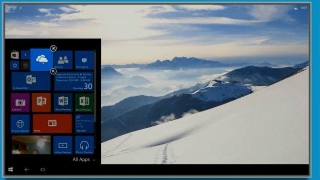 Continuum на Lumia 950