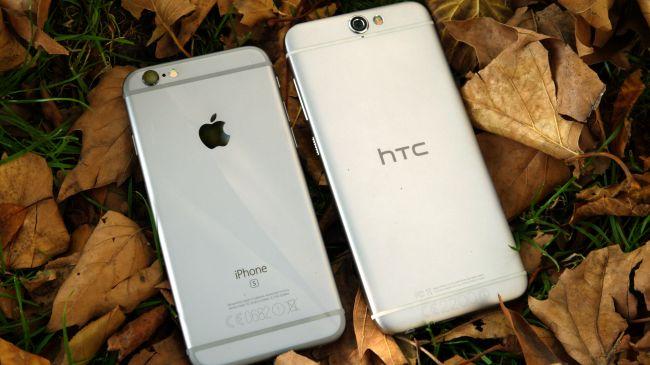 HTC One A9 и iPhone 6S