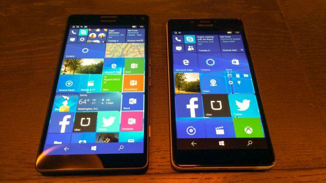 Microsoft Lumia 950 XL и 950