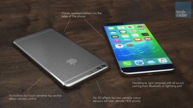 Концептуальная модель iPhone 7