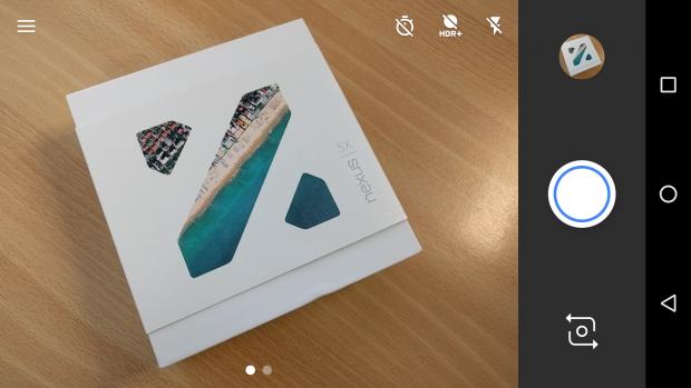 Приложение камеры LG Nexus 5X