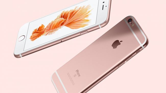 Розовый Apple iPhone 6S