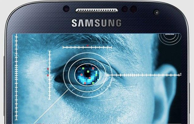Выход Galaxy S7. Сканер Iris