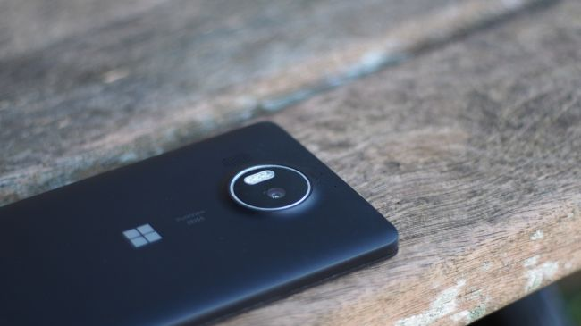 Камера Microsoft Lumia 950 XL