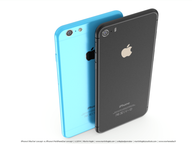 Концептуальная модель iPhone 6C