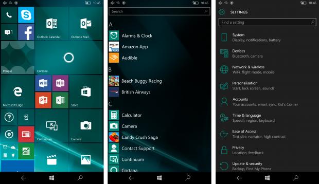 Плитка Windows 10 Mobile