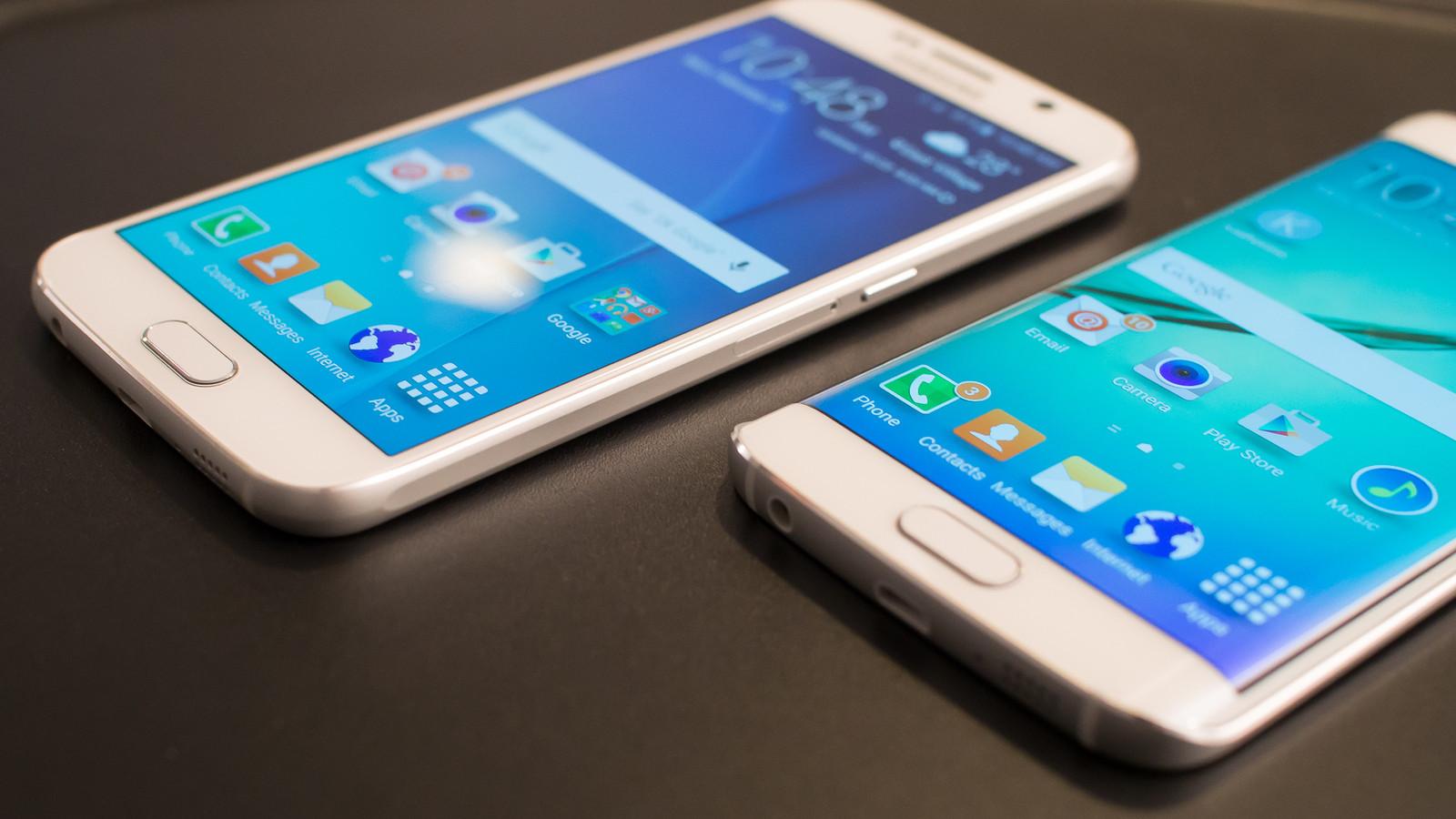 Смартфоны 2016. Samsung Galaxy S6