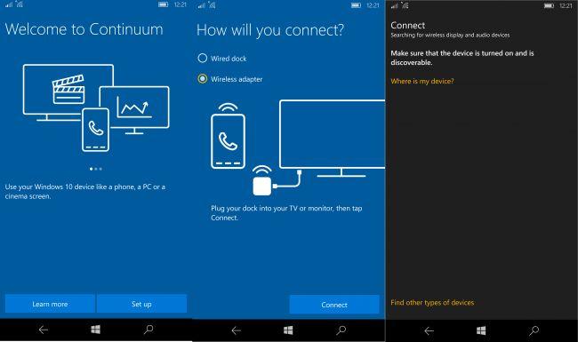 Сontinuum на Lumia 950 XL