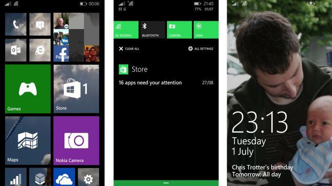 Windows Phone на Nokia Lumia 530