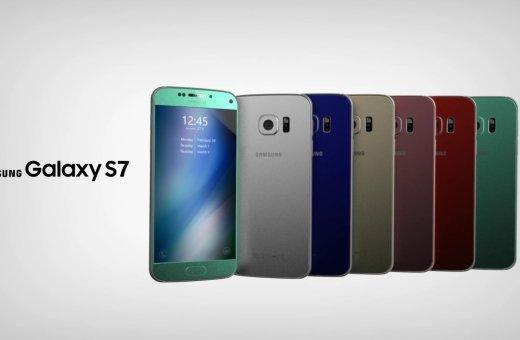 Концепция Samsung Galaxy S7
