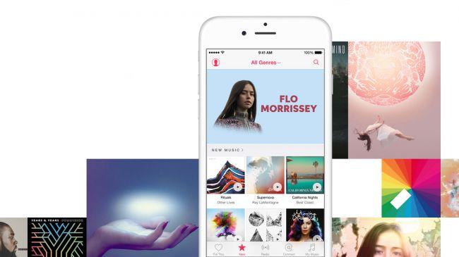 Мозаика Apple Music