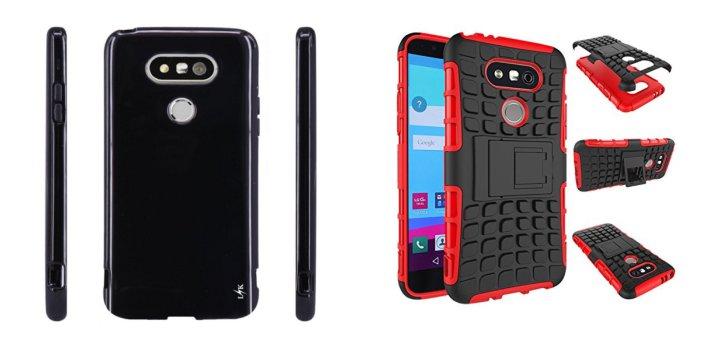 Смартфон LG G5 в футляре