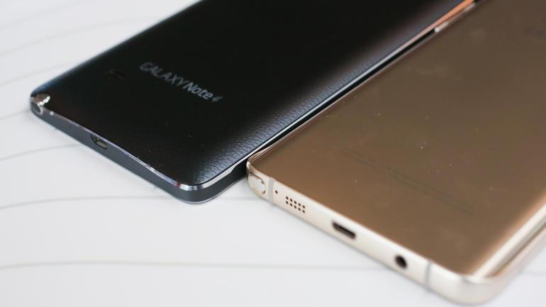 Samsung Galaxy Note 5 и Galaxy Note 4