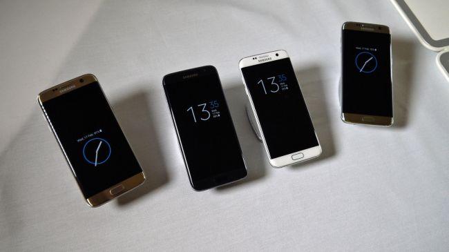 Активный экран Samsung Galaxy S7